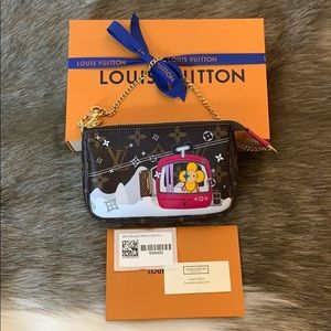 Authentic Louis Vuitton Mini Pochette Accessoires